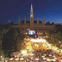 Vienna Filmfestival at Rathausplatz
